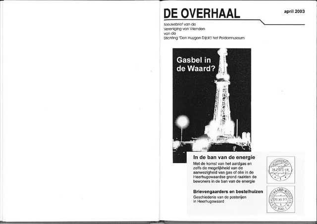 De Overhaal: historisch magazine Heerhugowaard 2003-04-01