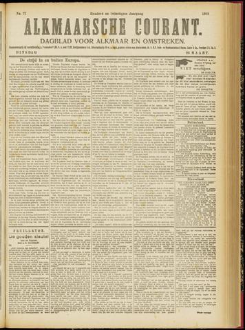 Alkmaarsche Courant 1918-03-26