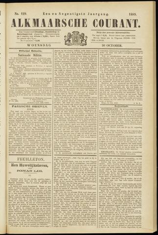 Alkmaarsche Courant 1889-10-30