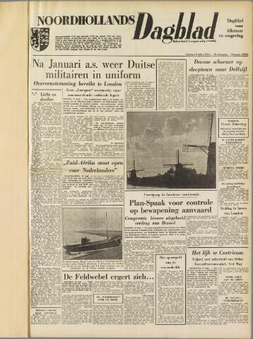 Noordhollands Dagblad : dagblad voor Alkmaar en omgeving 1954-10-01