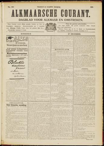 Alkmaarsche Courant 1910-12-27