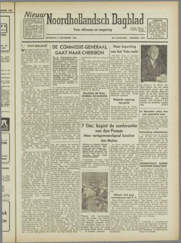 Nieuw Noordhollandsch Dagblad : voor Alkmaar en omgeving 1946-11-09