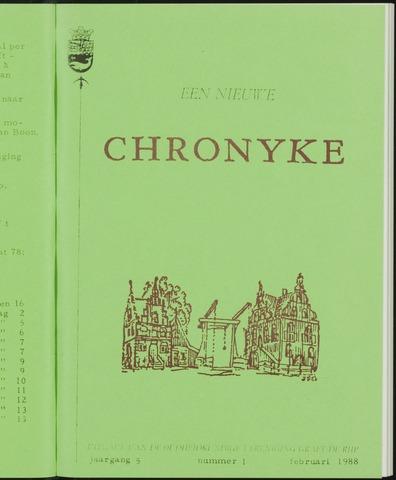 Een Nieuwe Chronyke van het Schermereiland 1988-02-01