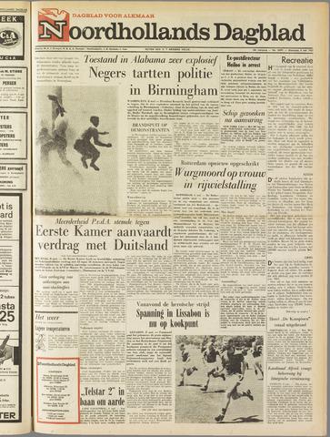 Noordhollands Dagblad : dagblad voor Alkmaar en omgeving 1963-05-08