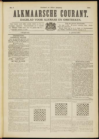 Alkmaarsche Courant 1909-01-08