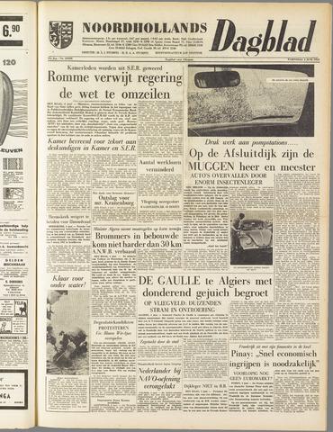 Noordhollands Dagblad : dagblad voor Alkmaar en omgeving 1958-06-04