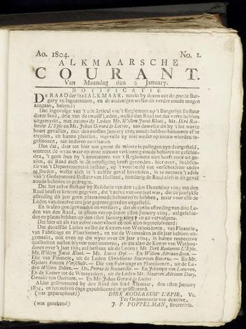 Alkmaarsche Courant 1804-01-02
