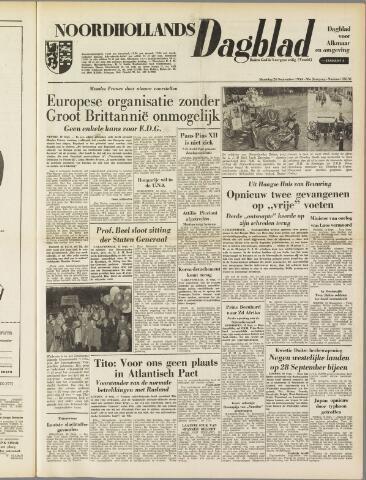 Noordhollands Dagblad : dagblad voor Alkmaar en omgeving 1954-09-20