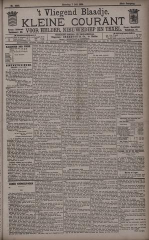 Vliegend blaadje : nieuws- en advertentiebode voor Den Helder 1894-07-07