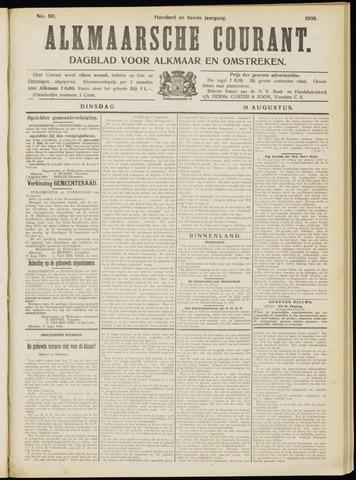 Alkmaarsche Courant 1908-08-18