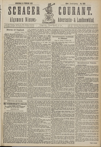 Schager Courant 1920-02-12