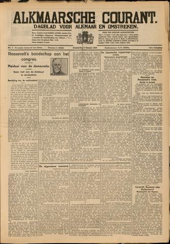 Alkmaarsche Courant 1939-01-05