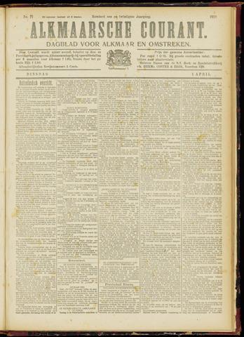 Alkmaarsche Courant 1919-04-01