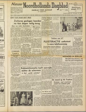 Nieuw Noordhollandsch Dagblad : voor Alkmaar en omgeving 1952-08-25