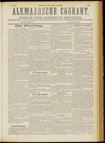 Alkmaarsche Courant 1915-10-28