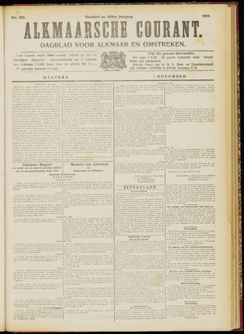 Alkmaarsche Courant 1909-11-01