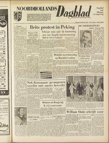 Noordhollands Dagblad : dagblad voor Alkmaar en omgeving 1953-09-12