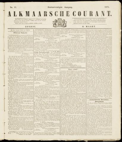 Alkmaarsche Courant 1874-03-15
