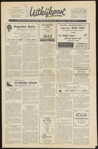 Uitkijkpost : nieuwsblad voor Heiloo e.o. 1970-09-10