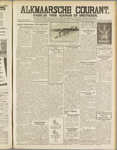 Alkmaarsche Courant 1941-12-11