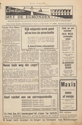 Contact met de Egmonden 1964-03-19
