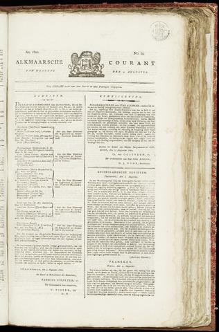 Alkmaarsche Courant 1820-08-21