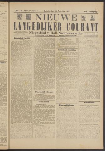 Nieuwe Langedijker Courant 1927-10-13