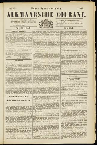 Alkmaarsche Courant 1888-07-25