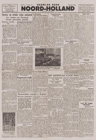 Dagblad Noord-Holland, Schager editie 1943-10-06
