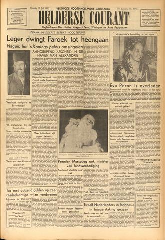 Heldersche Courant 1952-07-28
