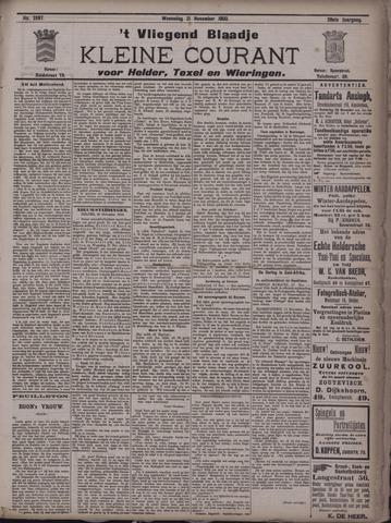 Vliegend blaadje : nieuws- en advertentiebode voor Den Helder 1900-11-21