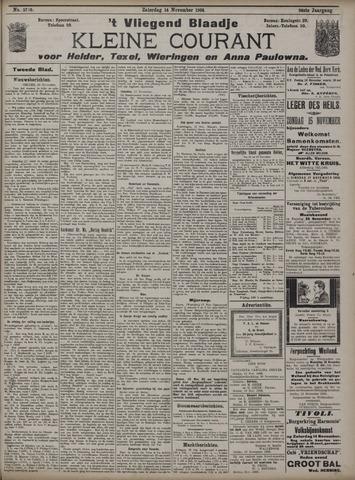 Vliegend blaadje : nieuws- en advertentiebode voor Den Helder 1908-11-14