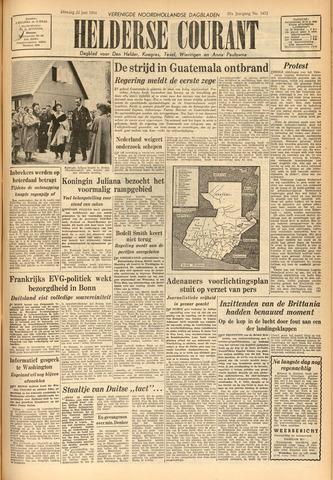 Heldersche Courant 1954-06-22