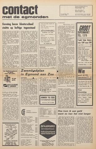 Contact met de Egmonden 1971-09-29