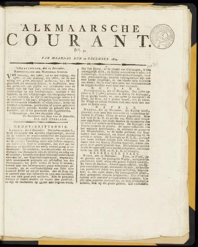 Alkmaarsche Courant 1814-12-19
