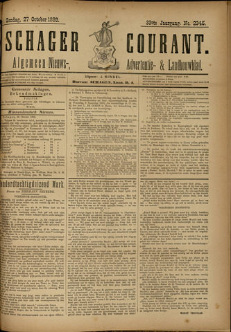 Schager Courant 1889-10-27
