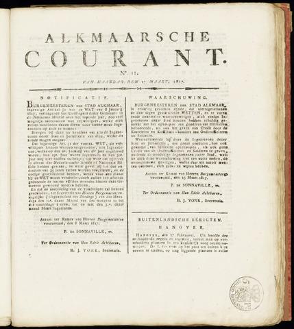 Alkmaarsche Courant 1817-03-17
