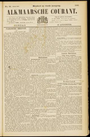 Alkmaarsche Courant 1902-08-10