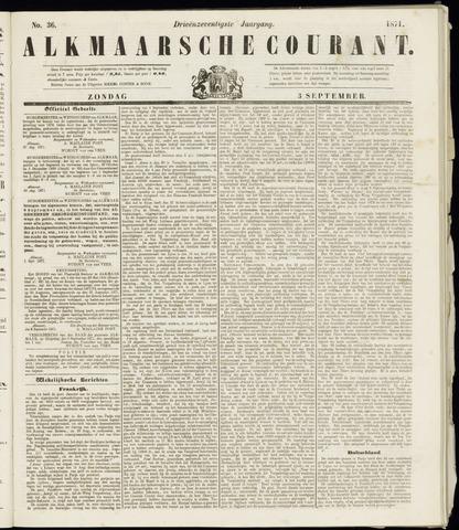 Alkmaarsche Courant 1871-09-03