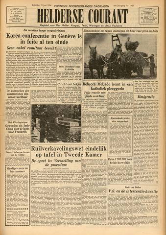Heldersche Courant 1954-06-12