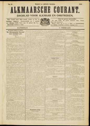 Alkmaarsche Courant 1913-02-08