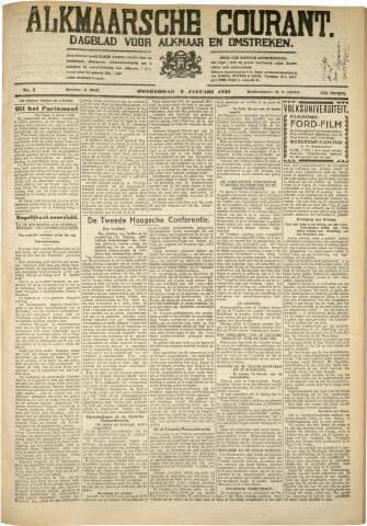 Alkmaarsche Courant 1930-01-09