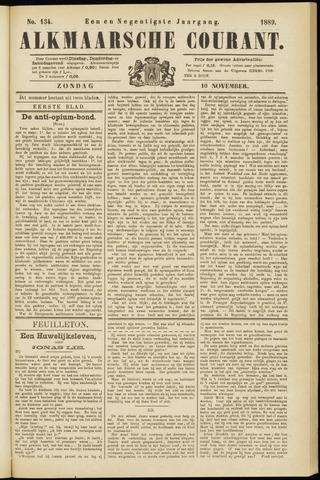 Alkmaarsche Courant 1889-11-10
