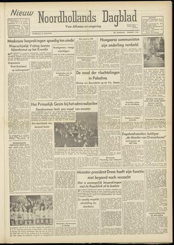 Nieuw Noordhollandsch Dagblad : voor Alkmaar en omgeving 1948-08-18