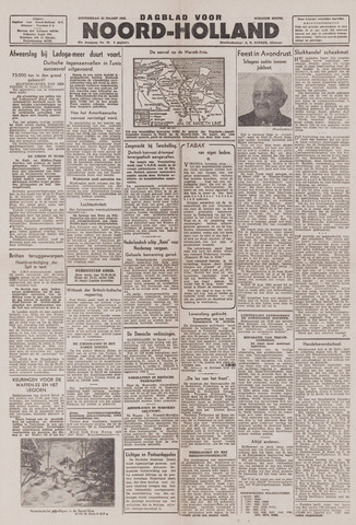 Dagblad Noord-Holland, Schager editie 1943-03-25