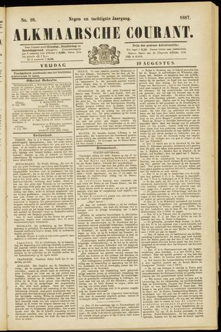 Alkmaarsche Courant 1887-08-19
