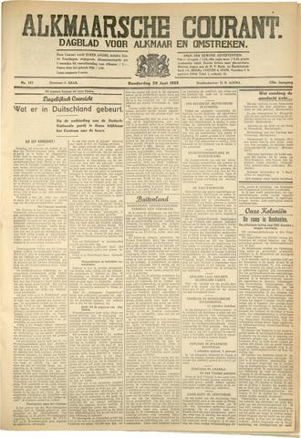 Alkmaarsche Courant 1933-06-29
