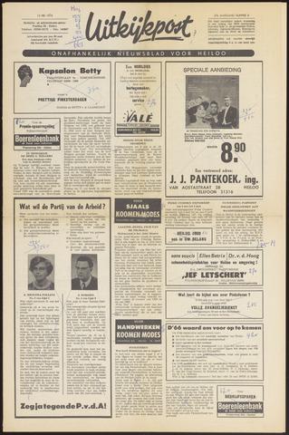 Uitkijkpost : nieuwsblad voor Heiloo e.o. 1970-05-13