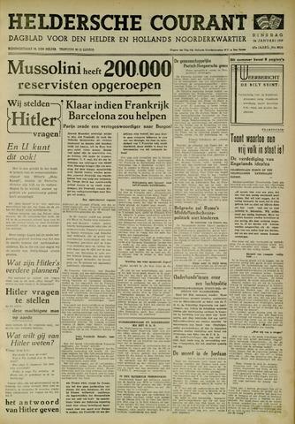 Heldersche Courant 1939-01-24