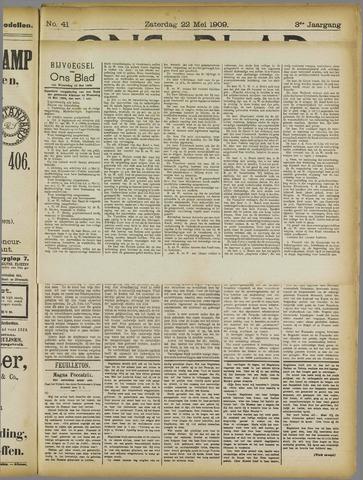 Ons Blad : katholiek nieuwsblad voor N-H 1909-05-22